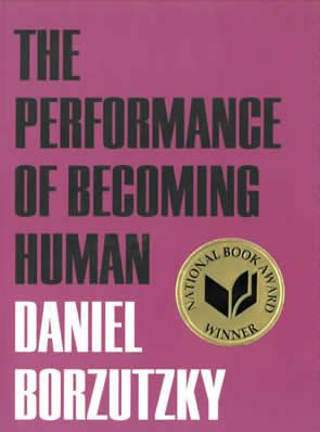 The Performance of Becoming Human, by Daniel Borzutzky, book cover