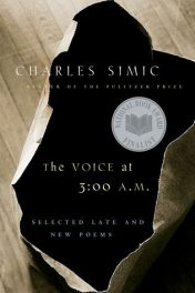 The Voice at 3:00 A.M. by Charles Simic book cover