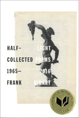 Half-light: Collected Poems 1965–2016 by Frank Bidart, book cover