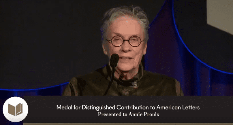 Annie Proulx's speech at the 2017 National Book Awards Ceremony (full speech)