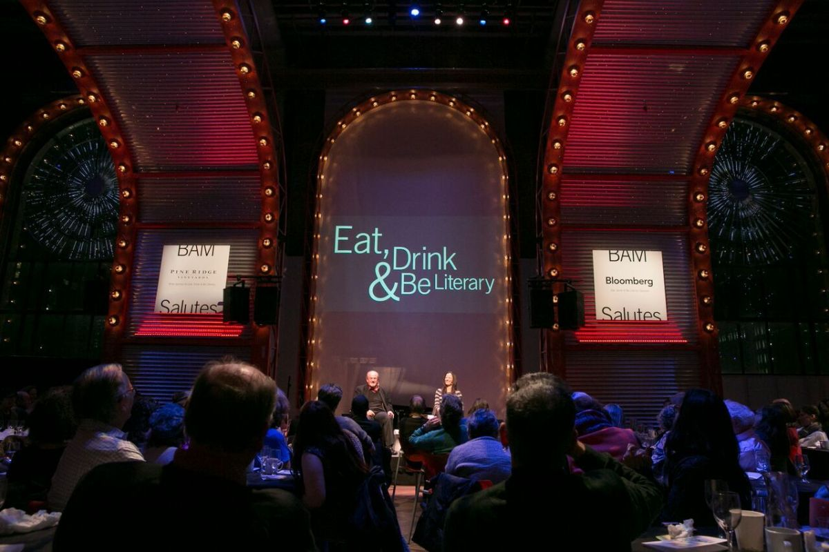 Martin Amis reading and discussion with Deborah Treisman – Eat, Drink & Be Literary at BAMcafe