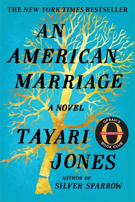 An American Marriage by Tayari Jones book cover