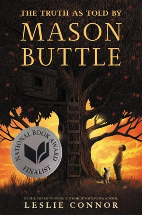 The Truth as Told by Mason Buttle by Leslie Connor book cover