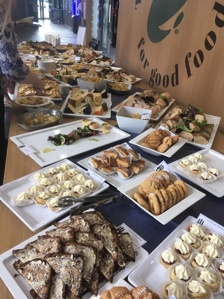 Lovely food at National Counsellors' Day 2019