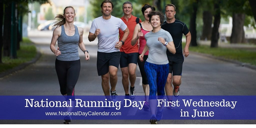 National Running Day First Wednesday in June