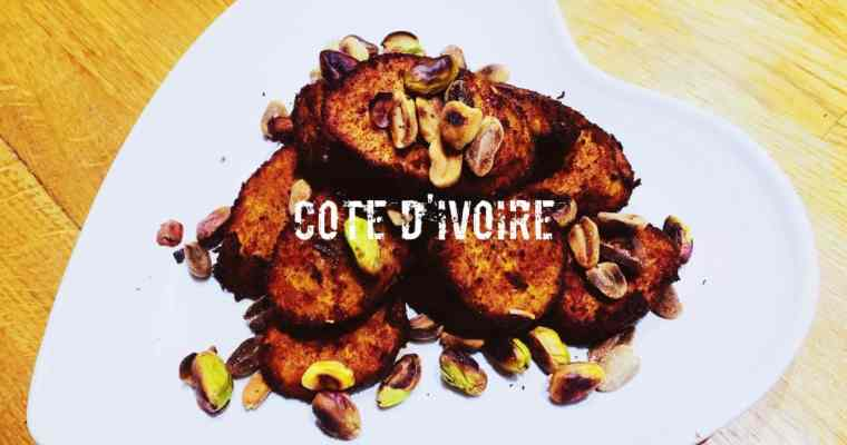 Côte d'Ivoirian fried plantain with roasted nuts | How do you make Alloco or Kelewele | What is the national dish of The Ivory Coast