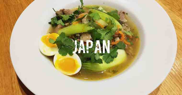 Japanese Ramen Noodles with Roast Lamb | ラーメン | What is the national dish of Japan?