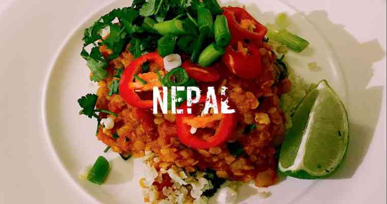 Nepalese Dal Bhat with Cauliflower Rice | दालभात | What is the National Dish of Nepal?