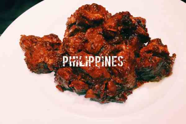 What is the national dish of the Philippines? Adobo this is pork