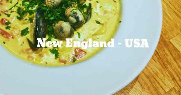 How do you make a New England, USA Mixed Fish Chowder? | What is the national dish of New England, United States?