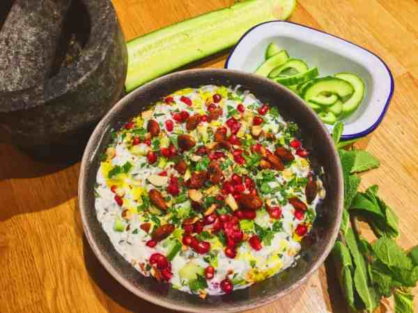 The best Israeli influenced Middle Eastern Yogurt Dip you'll ever eat | National Dish Recipe