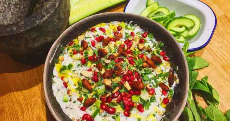 This is the best yogurt dip ever   Middle East and North Africa   National Dish Recipe