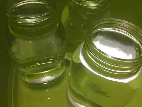How do you sterilise a kilner jar to make gin?