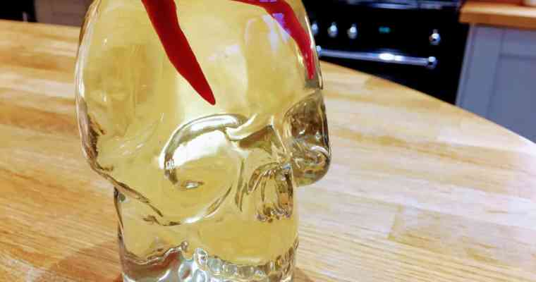 Chilli White Rum Recipe | Chillies in Bacardi for Parties not just Halloween