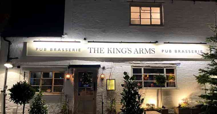 Restaurant Review of The Kings Arms in Prestbury – Pub or Restaurant, or Both?