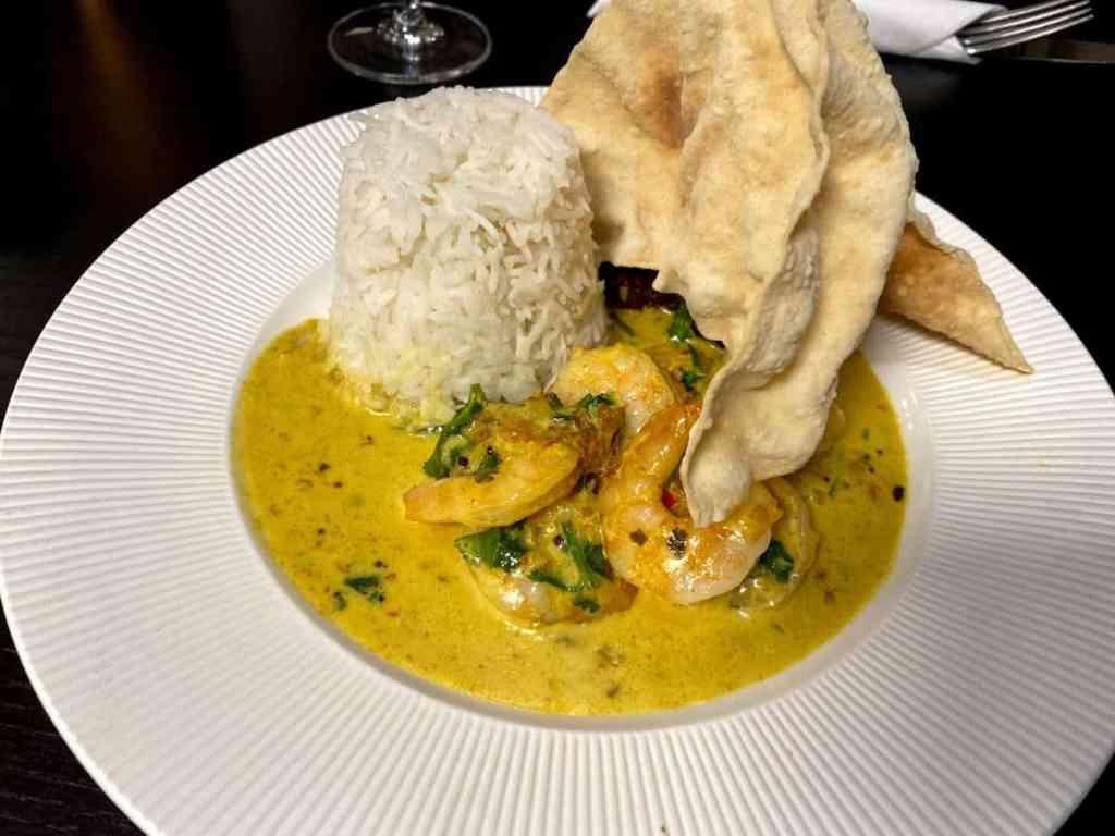 The Larder Restaurant Sri Lankan Prawn Curry Cheltenham