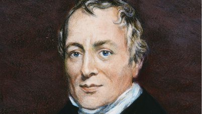 David Ricardo, inventor of the theory of comparative advantage