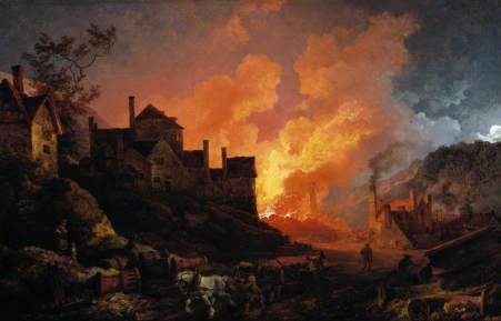 the fires of Britain's industrial revolution were stoked by Britain's mercantile trade policy