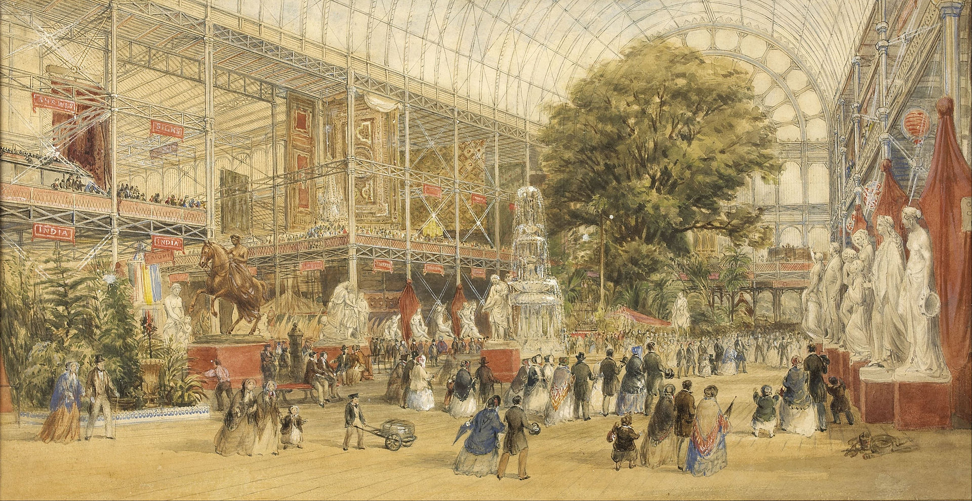 crystal palace, london
