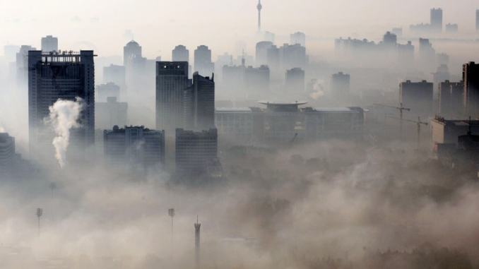 smog is a major environmental, and health problem in China