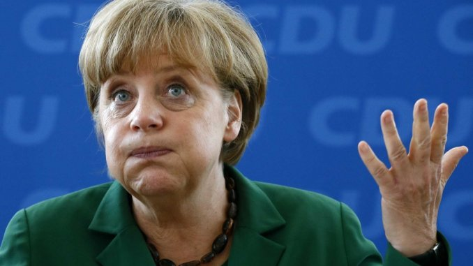 german chancellor angel merkel claims germany invests ten times more in the us than the us invests in germany