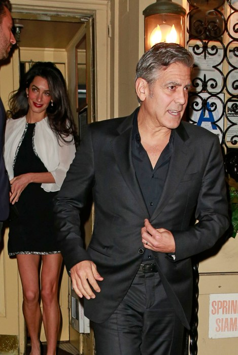 George Clooney: I'm Not Getting Divorced, Okay? | National ...