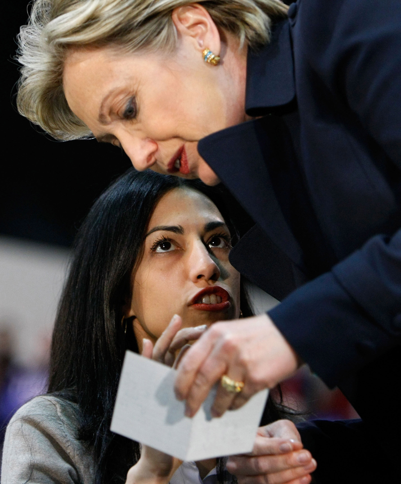 Image result for images, hillary clinton and huma abedine, lesbians