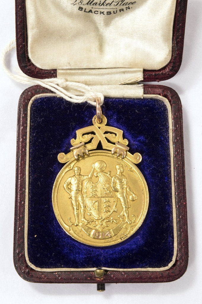 Edwin Mosscrops FA Cup Winners Medal 1914 National