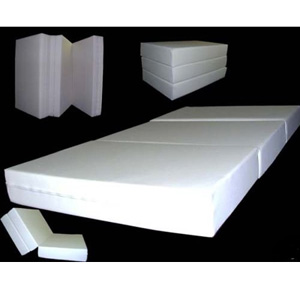 6 In Thick Twin Size Trifold Foam Beds C003007 Az165