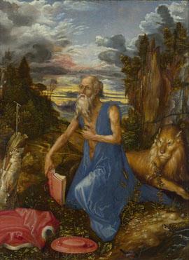 St Jerome, Albrecht Durer