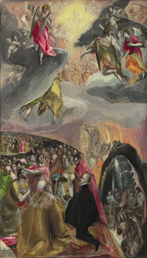 The Adoration of the Name of Jesus, El Greco