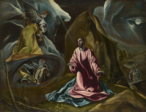 Agony in the Garden of Gethsemane, El Greco