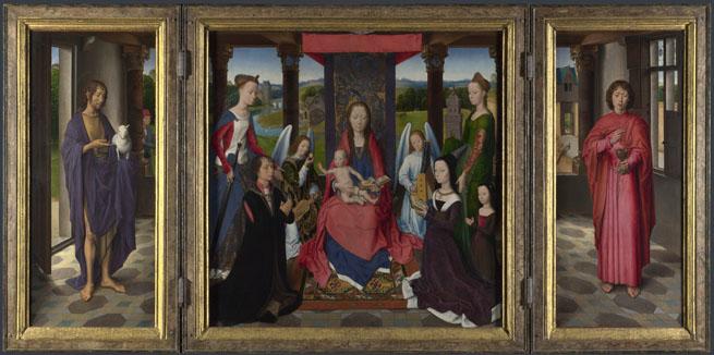 Donne Triptych, Hans Memlingen