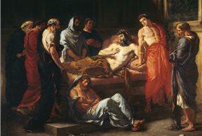La muerte de Marco Aurelio