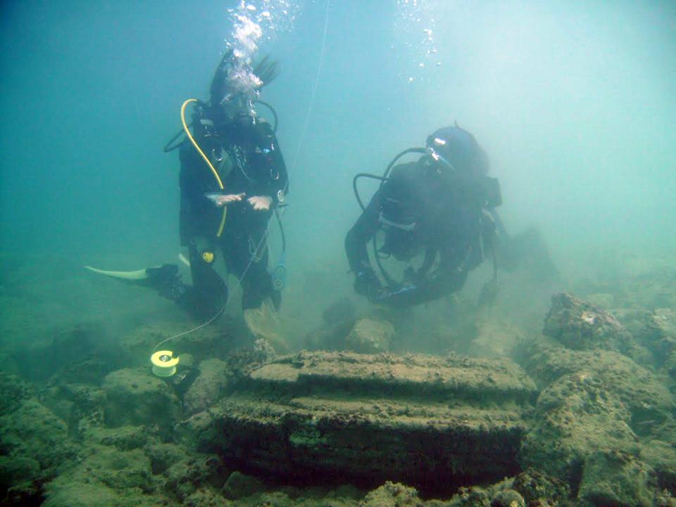 Restos subacuáticos