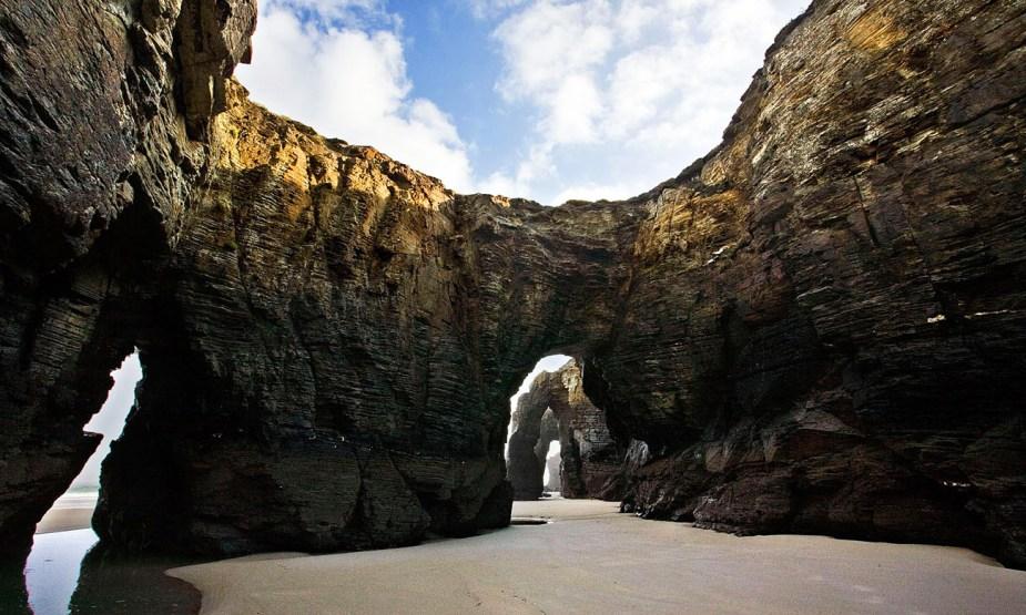 02-As Catedrais-Ribadeo web. Playa de las Catedrales, Galicia