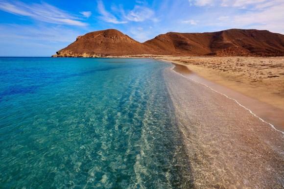 playa lo genoveses (Almería). Playa los Genoveses, Andalucía