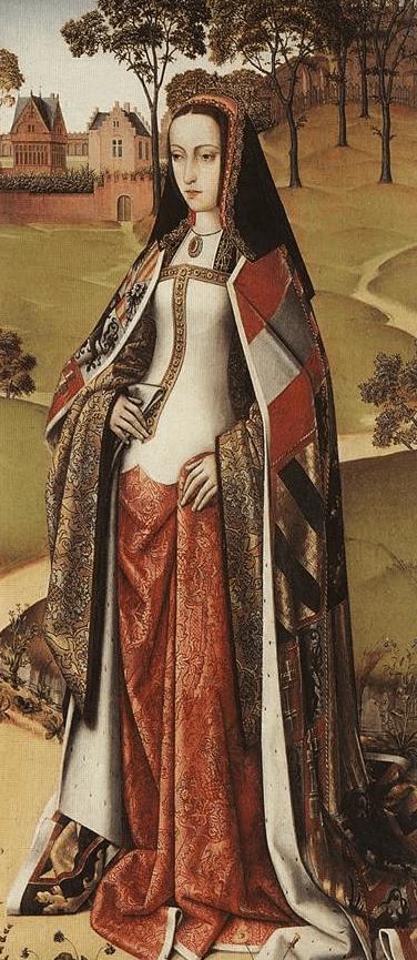 La infanta Juana de Castilla, retrato del maestro de Affligem, Joseph Sequence