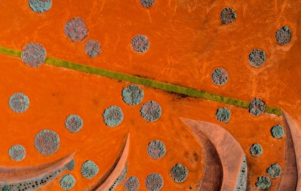 """Red Sand Garden"" (El Jardín de Arena Roja)"