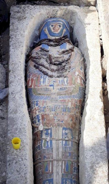 antiguoegipto2. Momia del periodo tardío de Egipto