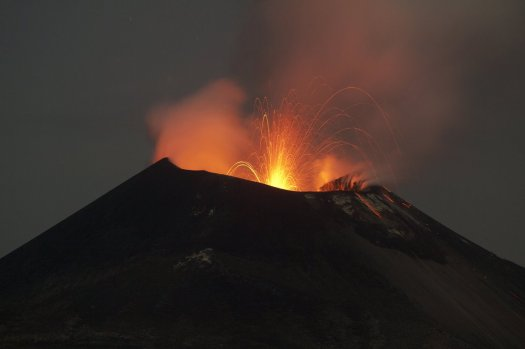 erupcion volcan anak krakatau. Una posible solución natural
