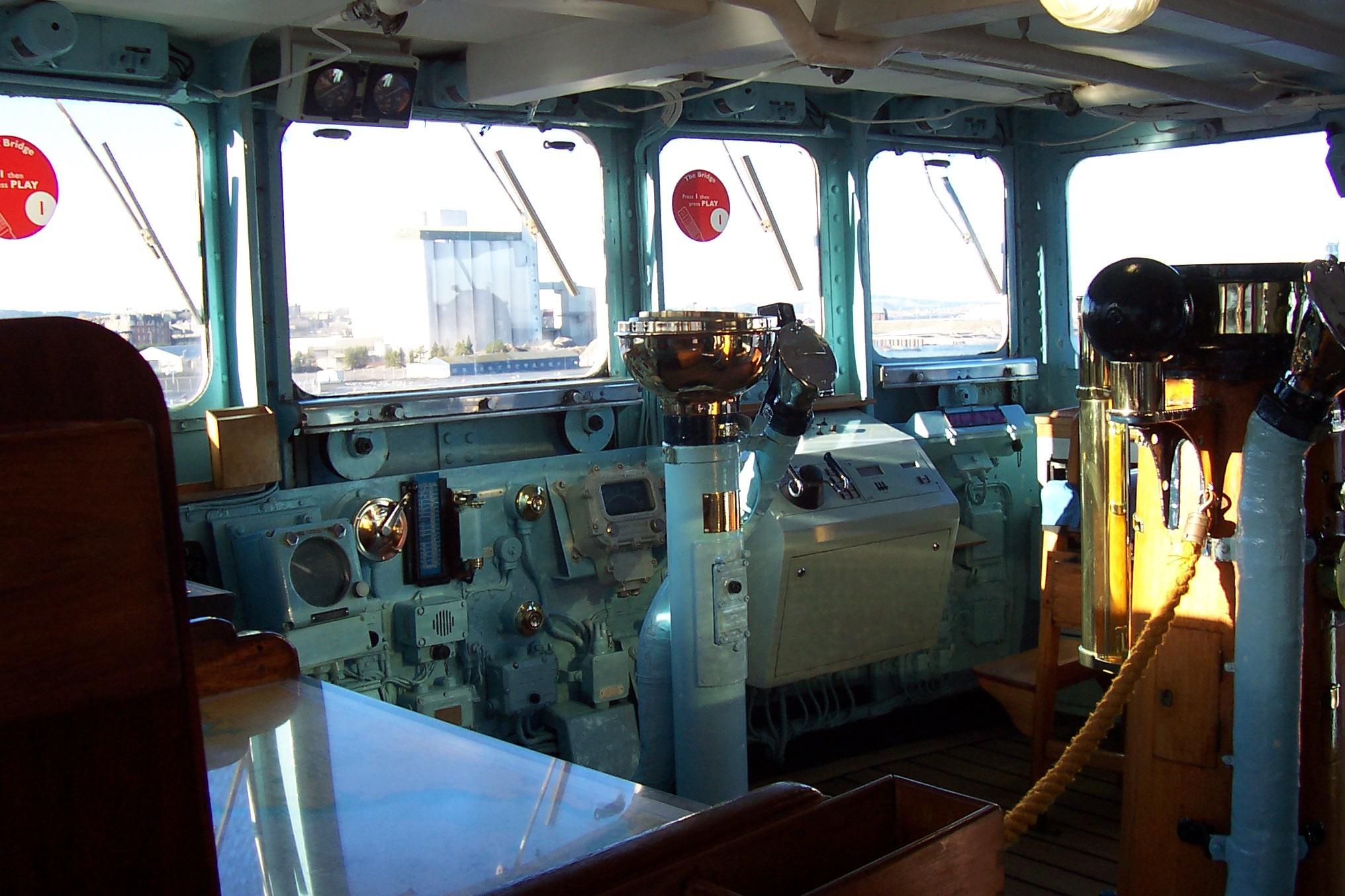 Name Royal Yacht Britannia National Historic Ships