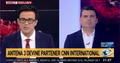 """Partenerele Antena 3 și CNN: Canale pestilențiale """"fake news"""" și trompete ale globalismului progresist"""