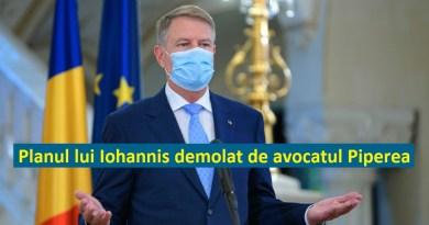 Avocatul Piperea: Iohannis va decreta STARE DE URGENTA, ca să închida gurile celor care acuză fraude