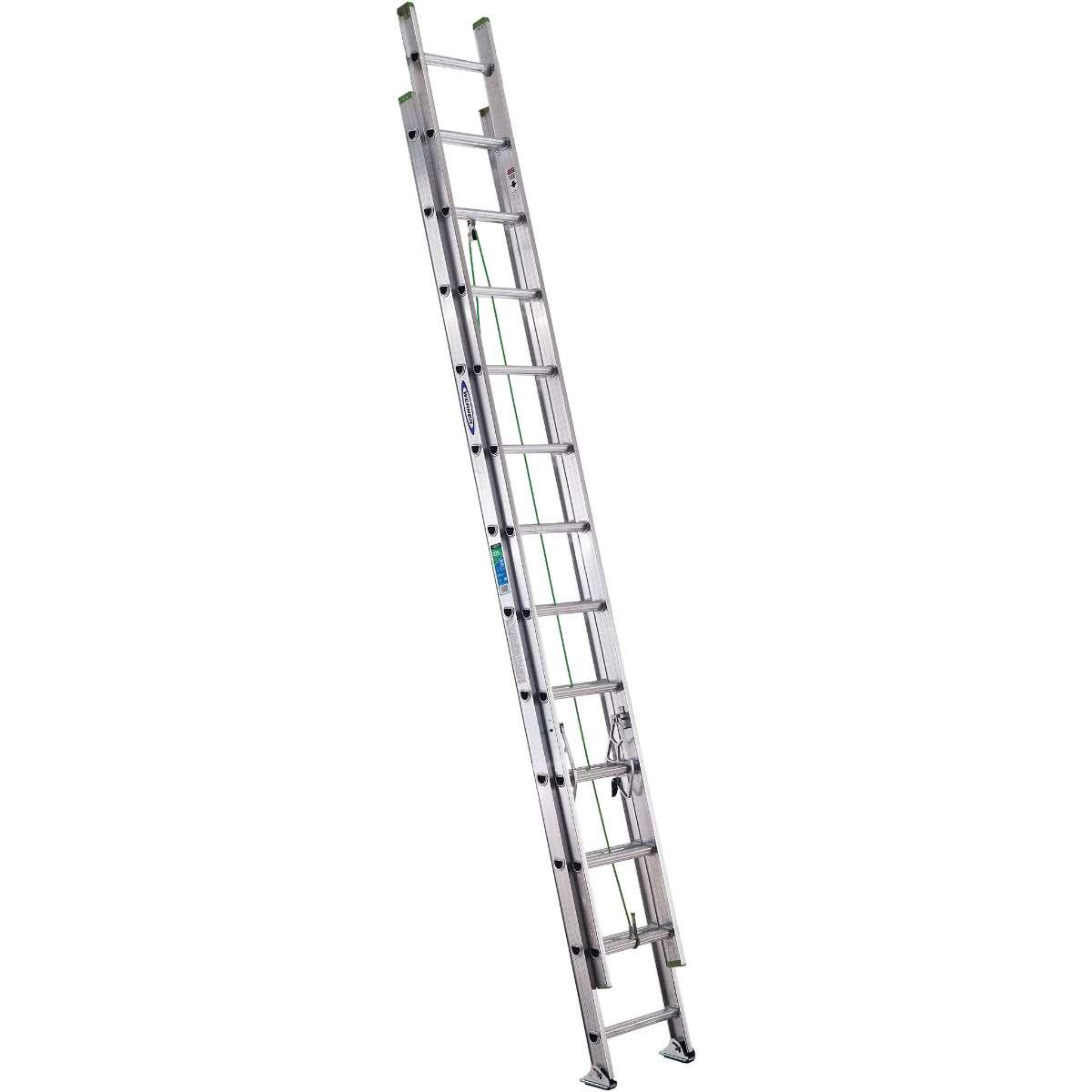 Werner Flat Step Extension Ladder