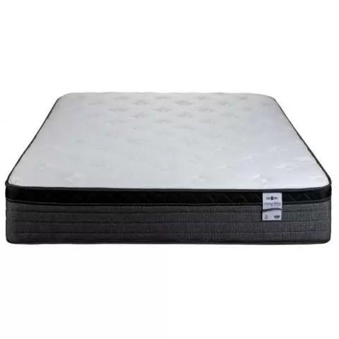 springwall chiropractic plush euro top mattress single twin