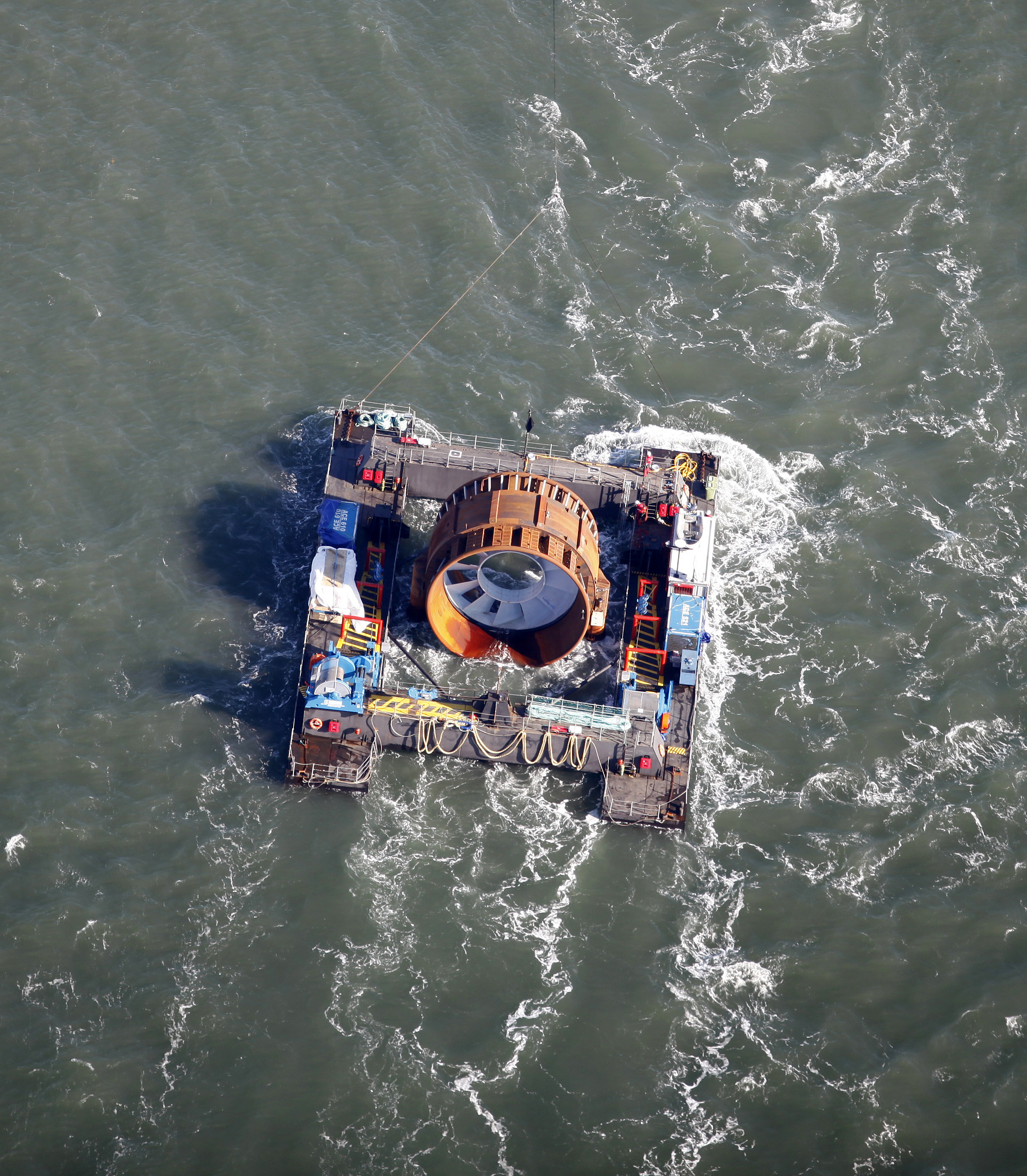 Tidal Power Companies Test Waters In Bay Of Fundy For