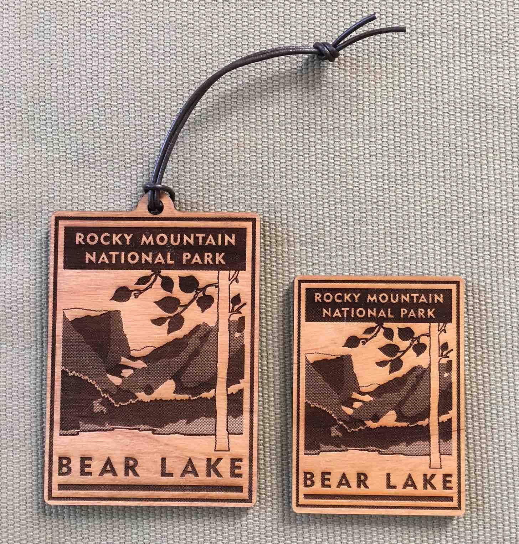 Bear Lake Scenic Icon Ornament & Magnet