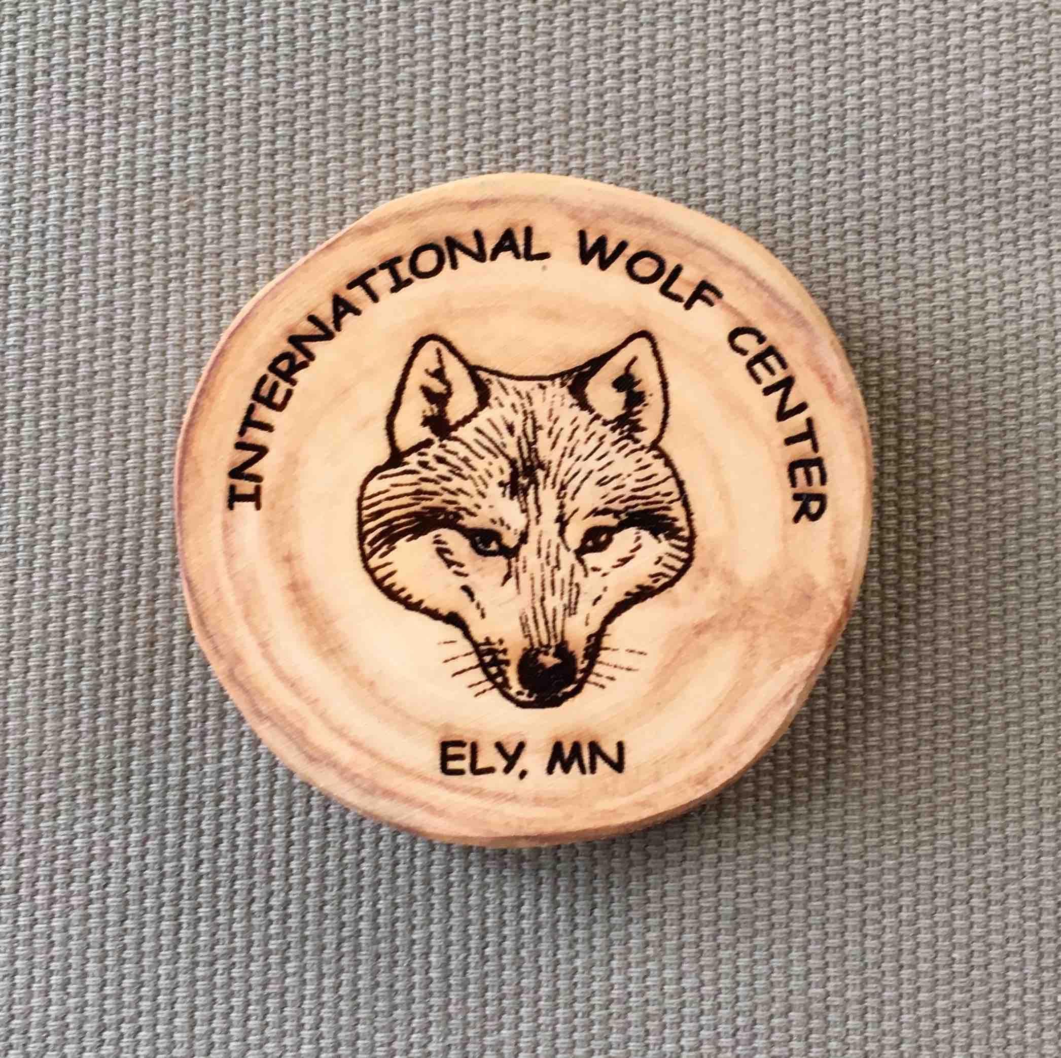 International Wolf Center Magnet