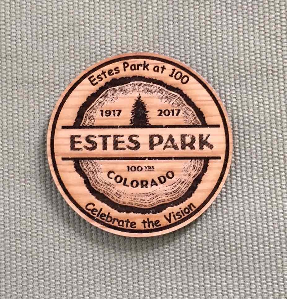 Estes Park Centennial Magnet